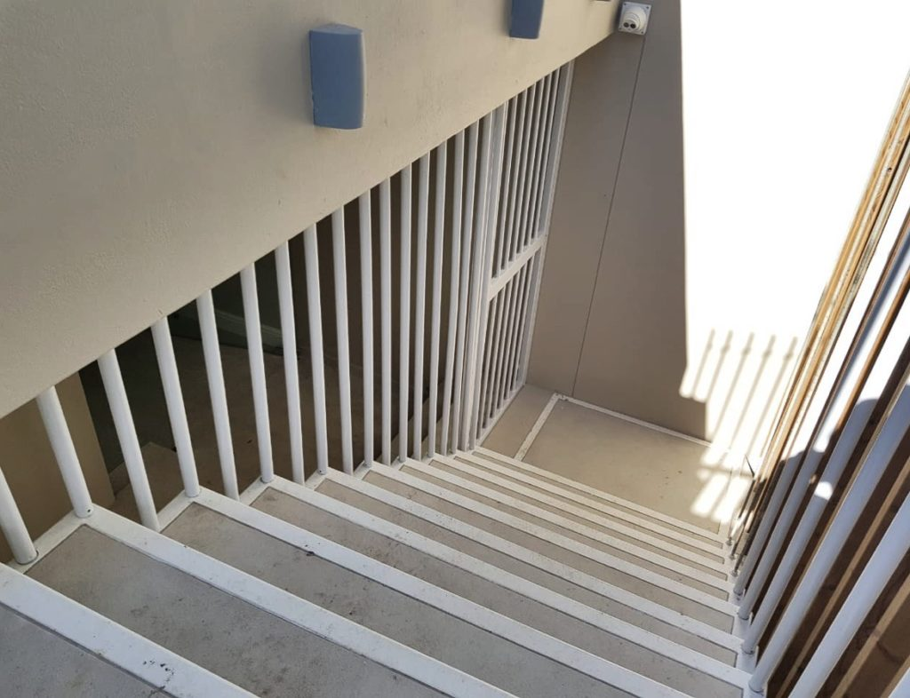 balustrades and security gate